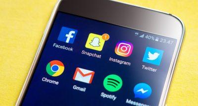 Screen Snapchat Facebook Smartphone Social Media
